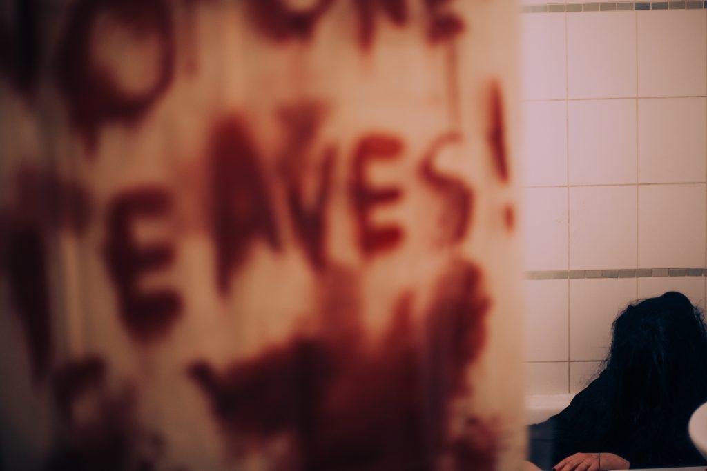 Bloody Bathtub Horror Photography