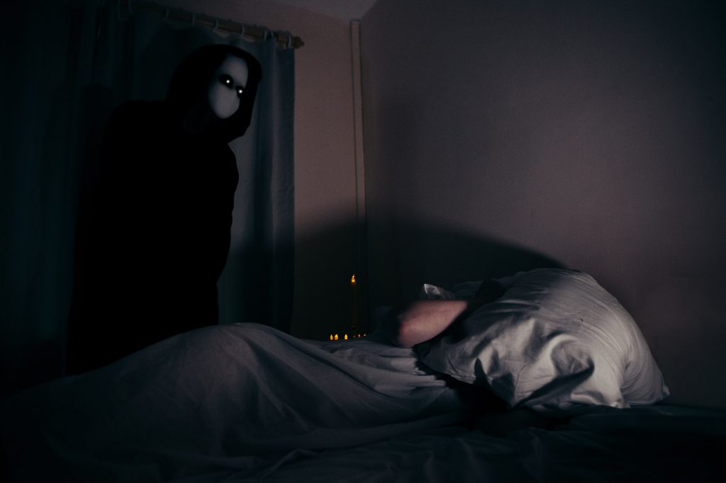 Sleep Paralysis Horror Photography