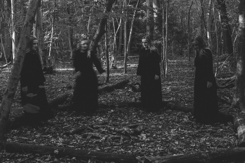 Occult Horror Photography Witches In The Woods