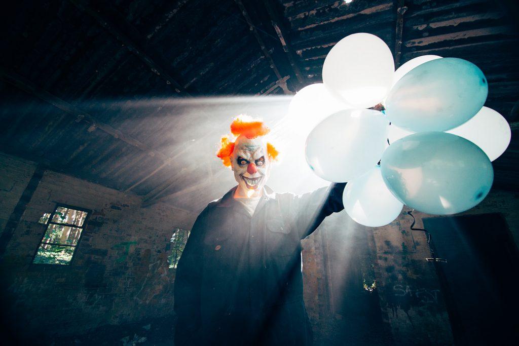Killer Clown Horror Photography