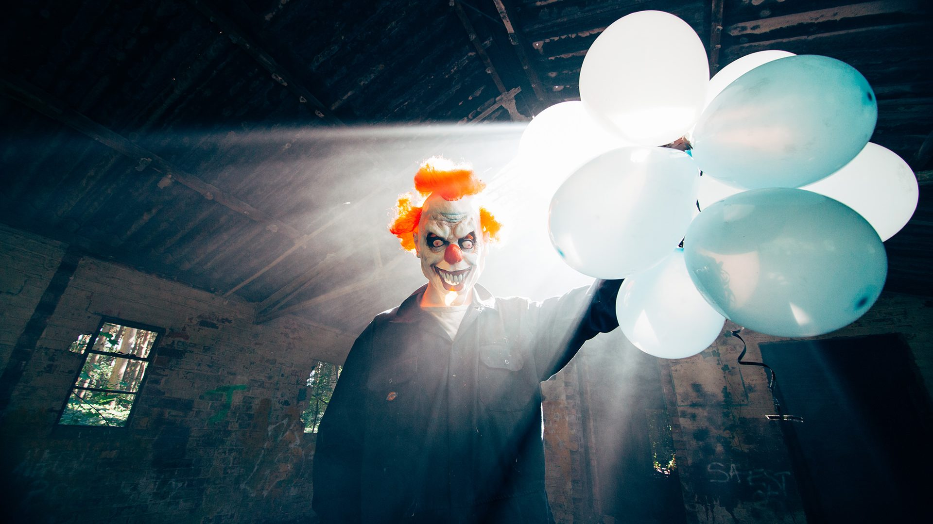 Killer Clown Horror Photography