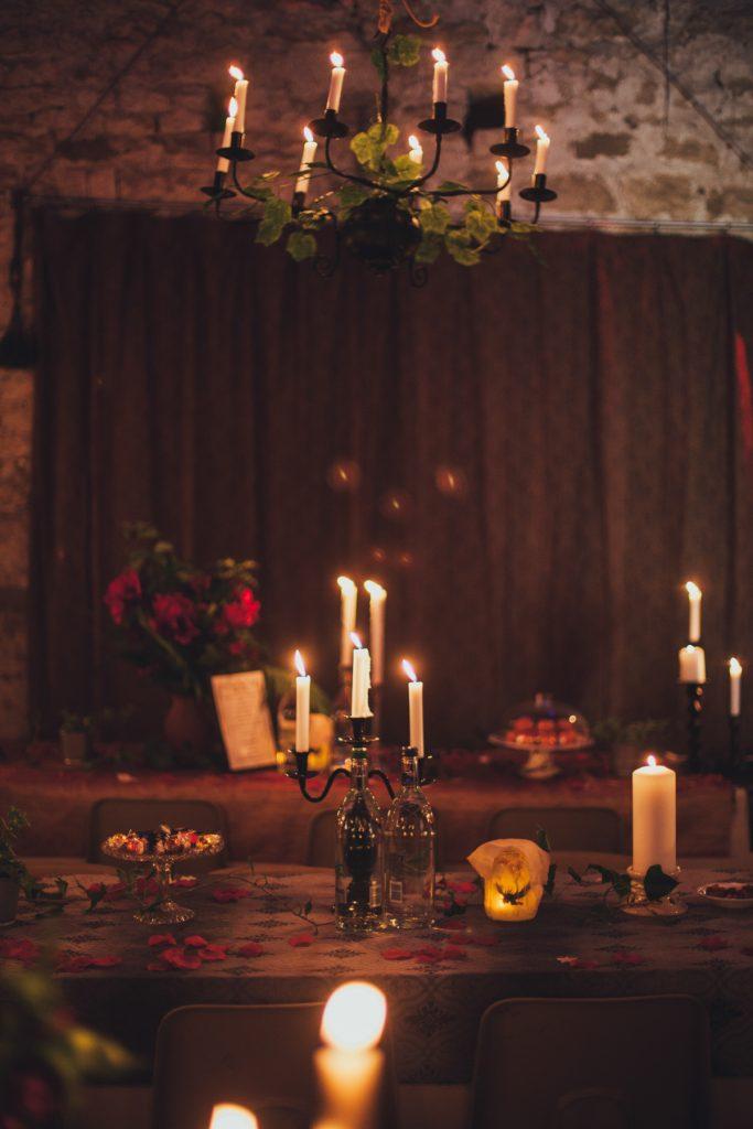 Gothic wedding venue photography